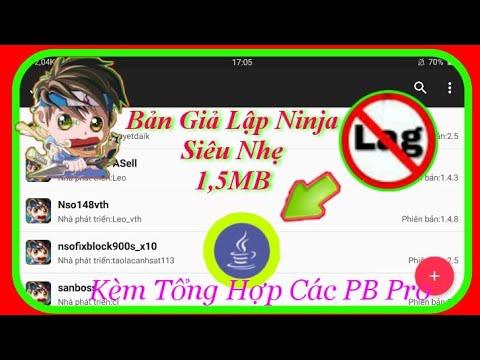 huong dan hack ninja school online tren dien thoai - Hướng Dẫn Cài Giả Lập Ninja Trên Điện Thoại Mới Nhất - Phiên Bản Nhẹ Và Mượt Nhất   MOD GAME NSO