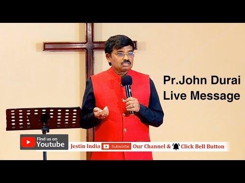 18.02.2018 Sunday Service Live Message By Pr.John Durai