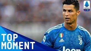 Ronaldo Denied Opening Day Goal by VAR | Parma 0-1 Juventus | Top Moment | Serie A
