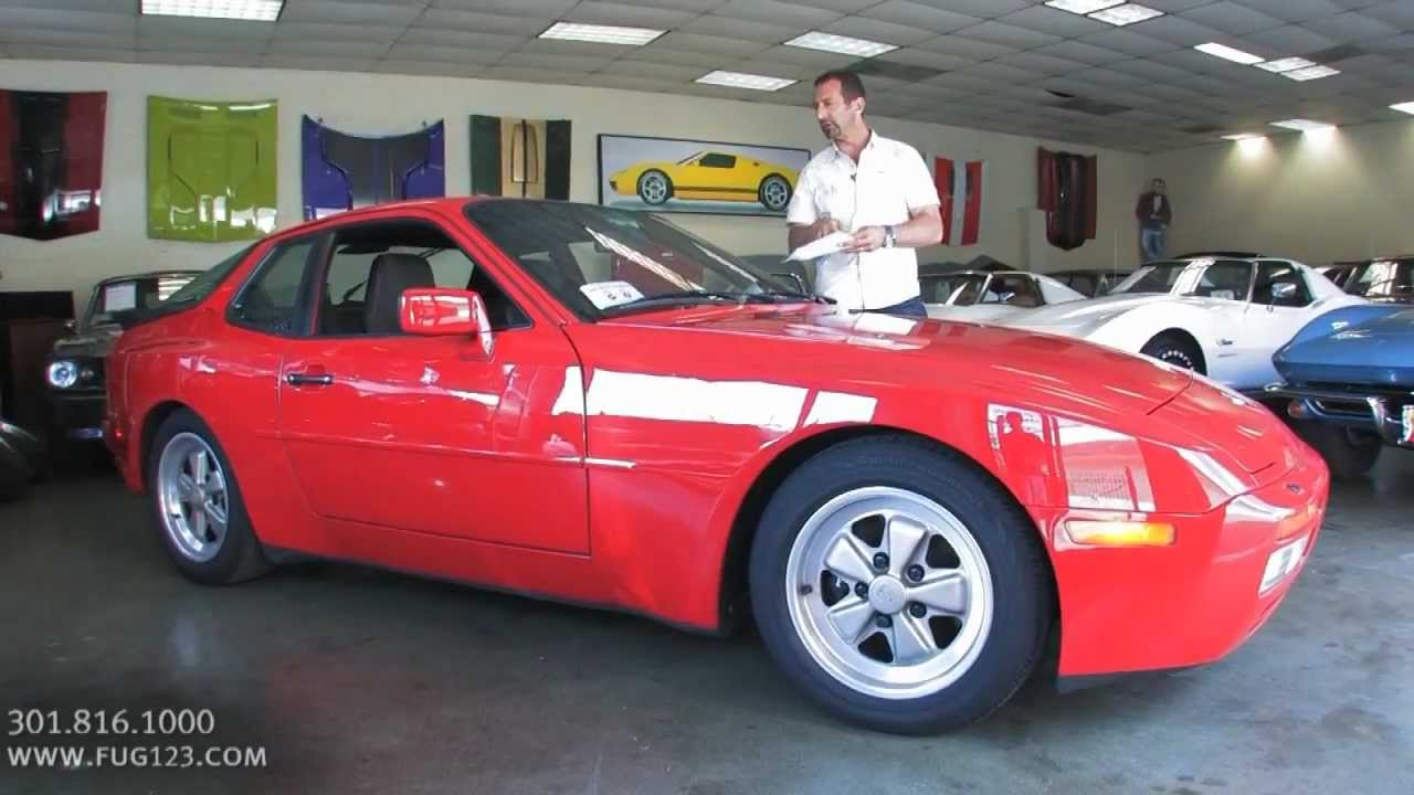 1986 Porsche 944 Turbo for sale with test drive, driving sounds, and