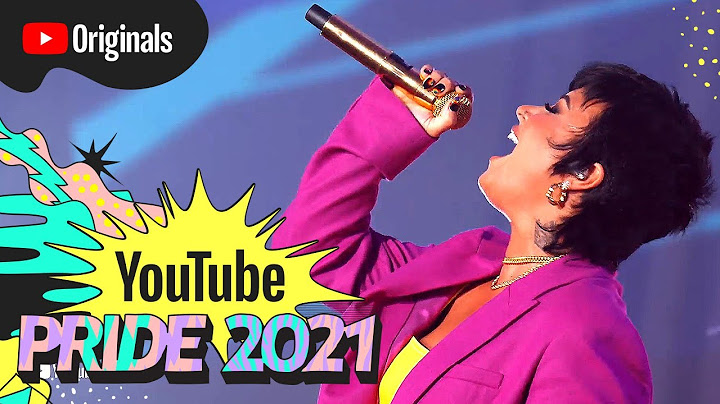 demi lovato  cool for the summer live at youtube pride 2021