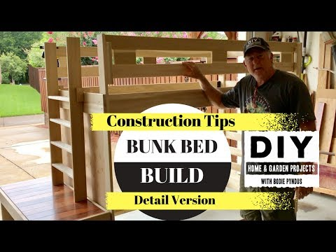 Bunk Beds, Construction Tips