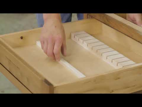 Knife Block and Spice Tray Drawer Box Inserts