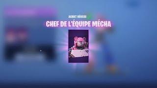 J'ACHÈTE LE SKIN : CHEF DE L' ÉQUIPE MÉCHA !! - FORTNITE