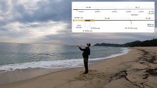 해수욕장루어 모든것(장비/캐스팅/액션) #삼척원평해변 …