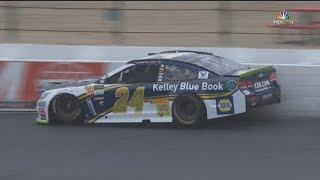 Monster Energy NASCAR Cup Series 2017. FP1 New Hampshire Motor Speedway (2). Chase Elliott Crash