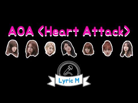 [Lyric M] AOA - Heart Attack, 에이오에이 - 심쿵해