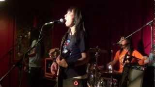 Shonen Knife live at the Buffalo Bar, Cardiff. 21 August 2011. Shee...