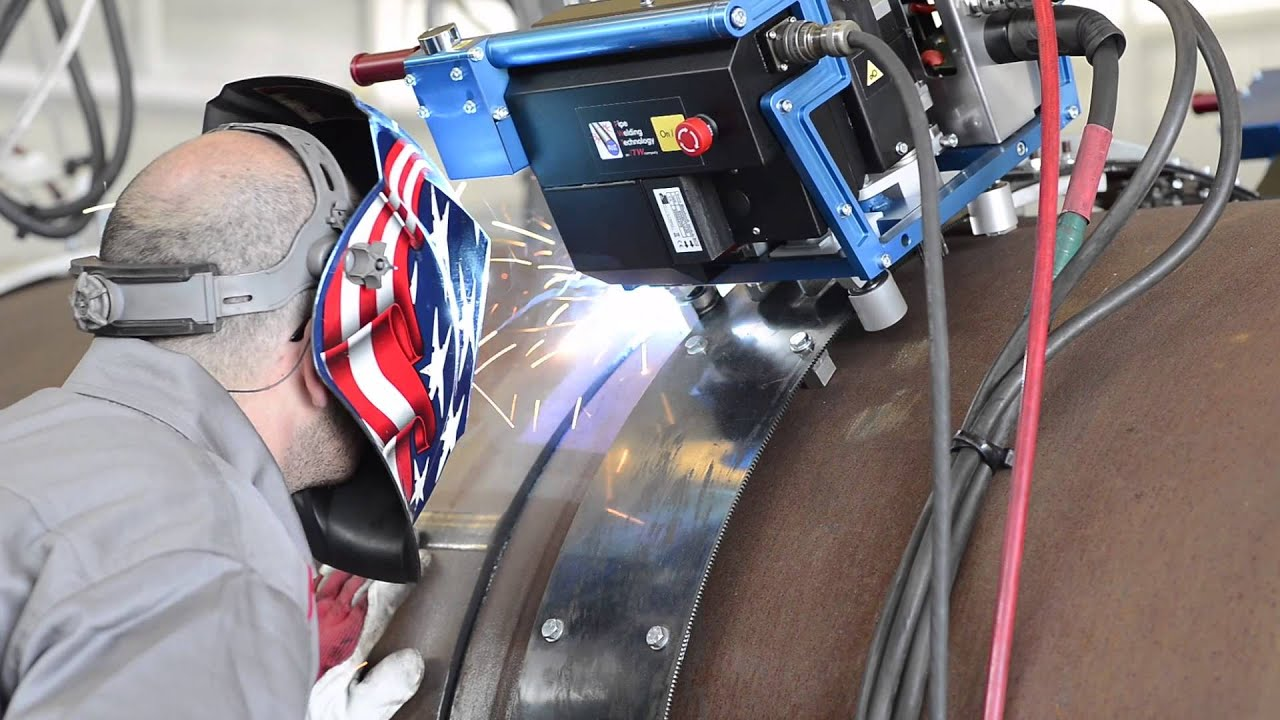 Miller PipePro ® Auto XCS - PWT - Welding pipe technology