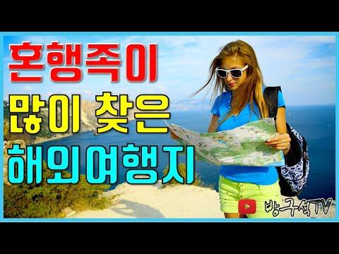 혼행족이 많이 찾는 해외여행지 TOP 5 [해외여행]