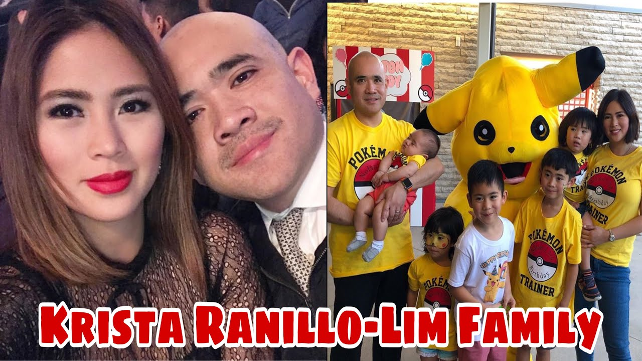 Krista Ranillo-Lim and Family
