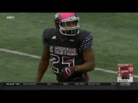 2015 MEAC Football: Bethune Cookman Wildcats @ North Carolina Central Eagles