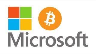 Microsoft Building On Bitcoin, R3 Corda Partners, SEC BTC ETF & Crypto In The US