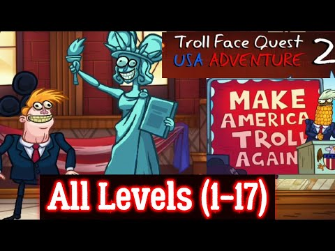 Troll Face Quest: USA Adventure 2 Complete Walkthrough