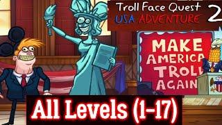 Troll Face Quest: USA Adventure 2 Complete Walkthrough