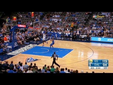 Warriors Rookie Jordan Bell Throws Himself an Alley Oop Off the Backboard in His 4th NBA Game