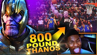 THANOS Is BACK In NBA 2K20... 800 POUND POINT GUARD Has 200+ Badges!