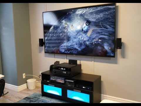 Dolby ATMOS Home theatre with BOSE speakers