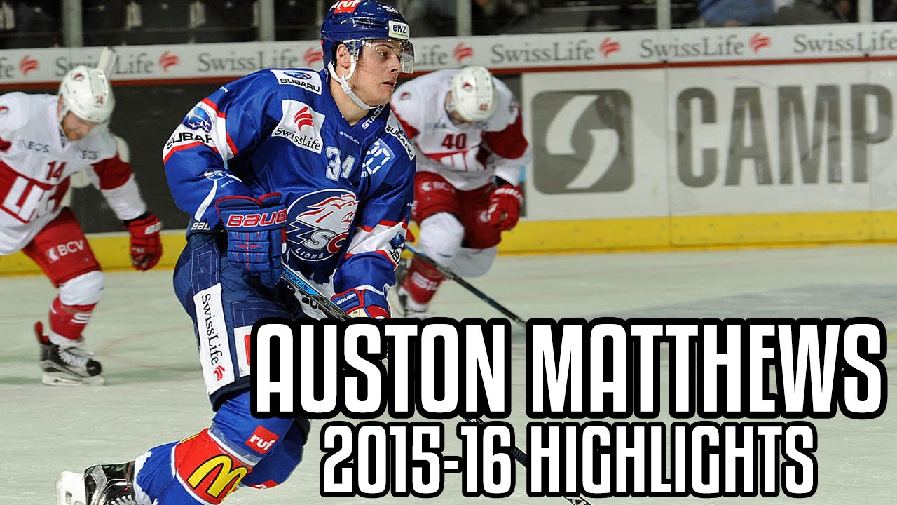 Auston Matthews  6cacc38f811