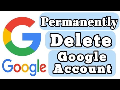How To Delete Google Account 2017