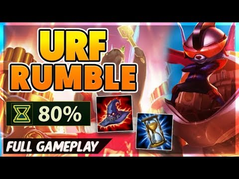 37 KILLS IN 14 MINS (HOW TO CARRY IN URF) - BunnyFuFuu Full Gamplay