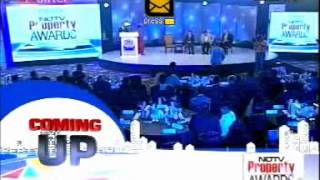 NDTV Property Awards 2013 - Silver Springs, Indore Adjudged The Best Township Project of India