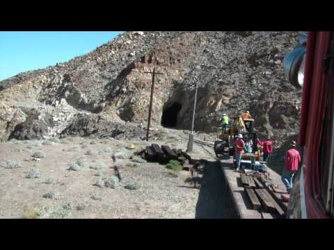 Eastbound Cab Ride Through Carrizo Gorge HD