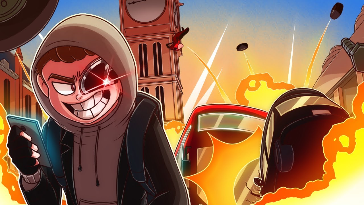 CAUSING CHAOS IN LONDON WITH MY INSANE HACKING SKILLS!