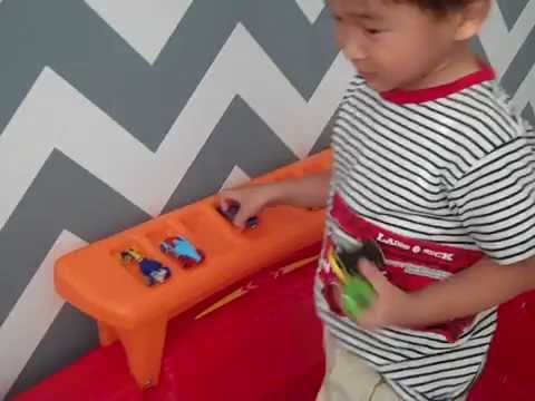 kid pov - step2 hot wheels™ toddler to twin race car bed™ review