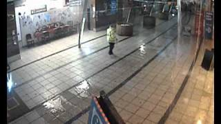 Live footage of Eden Project flooding