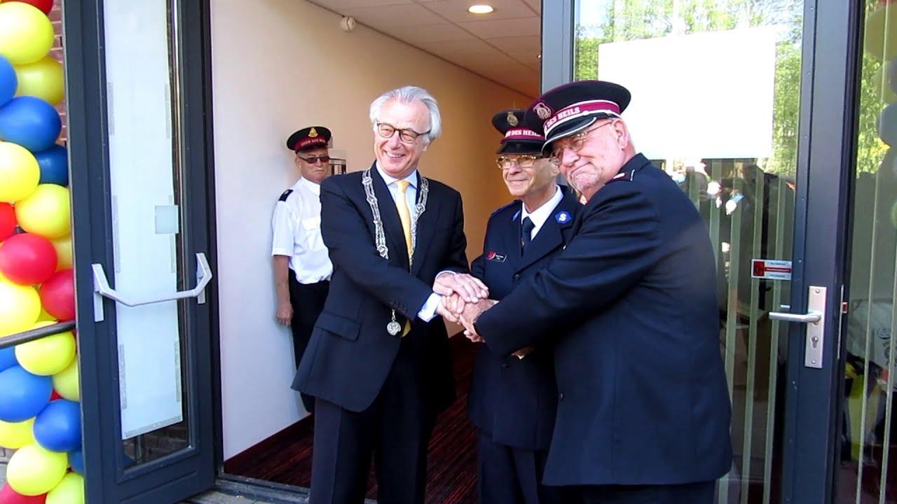 Officiële Opening En Dankdienst Nieuw Korpsgebouw Aan De