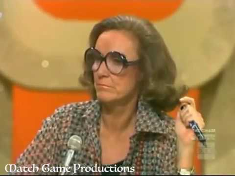 Match Game 76 (Episode 834) ( _______ Road)