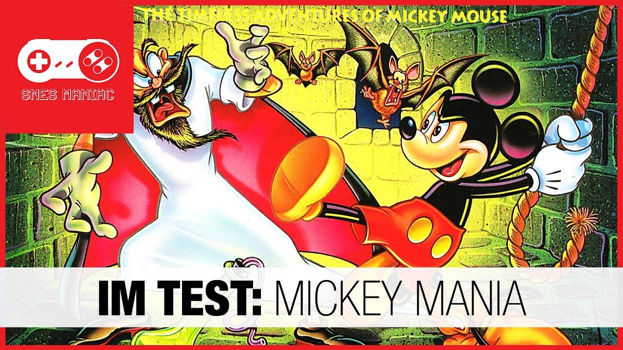 IM TEST: Mickey Mania [Super Nintendo SNES Review - german/deutsch]