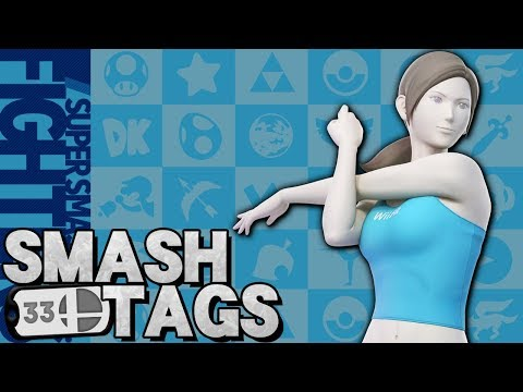 Wii Fit Trainer Whips You Into Shape! - ELITE Smash Tags #33 (Super Smash Bros. Ultimate) thumbnail
