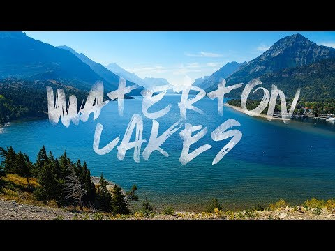 Waterton Lakes National Park || Alberta Canada