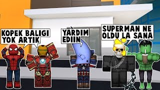 73.DAY SUPERMAN TEAM IN SUPERHEROSHIP BACK / Roblox Turkish / MadCity Roleplay