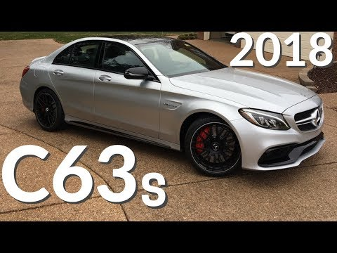 The NEW 2018 C63S AMG Sounds So GOOD!