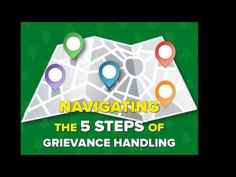 Navigating the 5 Steps of Grievance Handling