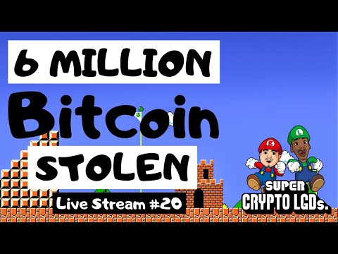 6 Million Bitcoin STOLEN (35% Of Its Current Circulating Supply! 😲)