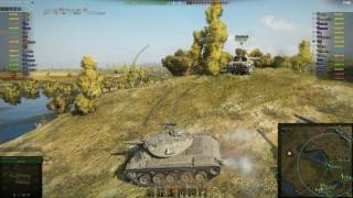 T49 Ace Tanker on Malinovka - 8129 Assist Damage