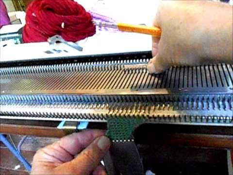 e0b84afb2615 cast on rags for machine knitters - YouTube