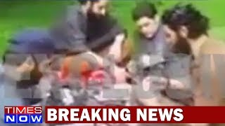 Caught On Cam: Hizbul Commander Latif Training His Apprentices In South Kashmir