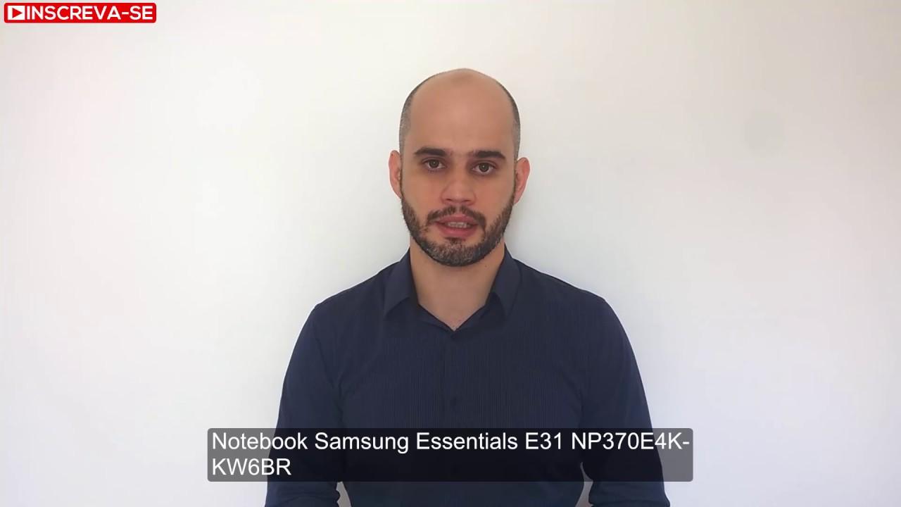 Notebook samsung essentials e34 - Notebook Samsung Essentials E31 Np370e4k Kw6br Recomenda O De Notebook Para Uso B Sico