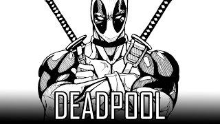 deadpool easy draw simple beginners steps