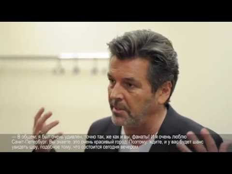 10.06.2016 - Thomas Anders interview (Moscow Crocus City Hall)