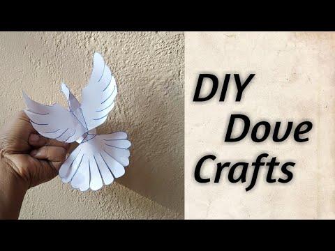 DIY dove // paper dove