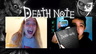 "DEATH NOTE Prank on Omegle with a Timer! ""Funny Reactions"""