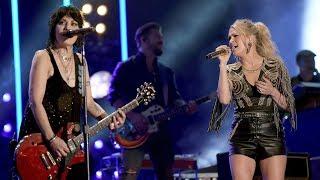 Joan Jett, Carrie Underwood Team Up for 'Sunday Night Football' Theme