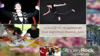 Fine and Performing Arts at Slippery Rock University