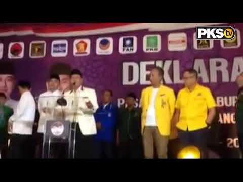 PKSTV - Deklarasi Calon Bupati  Kab. Tangerang periode 2018-2023